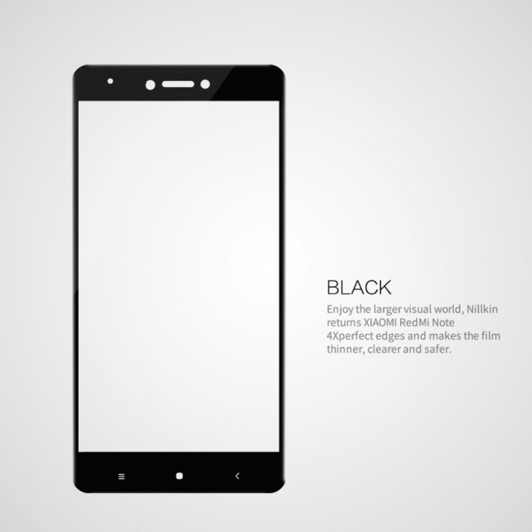 Nillkin glass screen protector for Xiaomi Redmi Note 4X (5.5) (index CP+)
