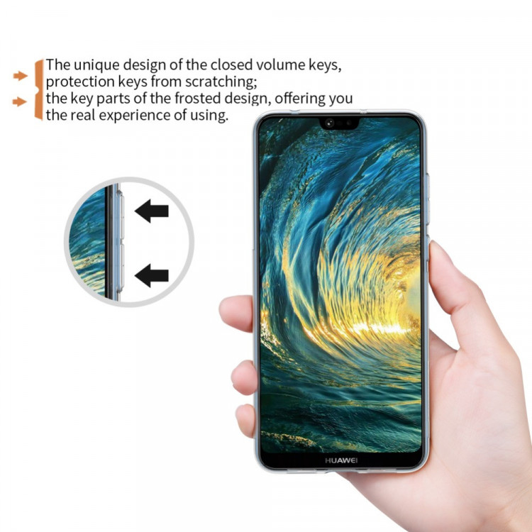Nillkin silicone nature TPU case for Huawei P20 pro (6.1)