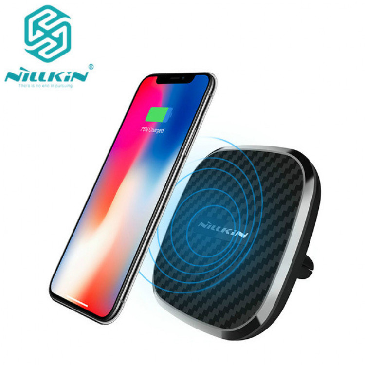 official photos 1ea76 5b8ca Nillkin QI car magnetic wireless charger for Apple iPhone X, iPhone 8,  iPhone 8 Plus, Samsung Galaxy S9, Galaxy S9 Plus