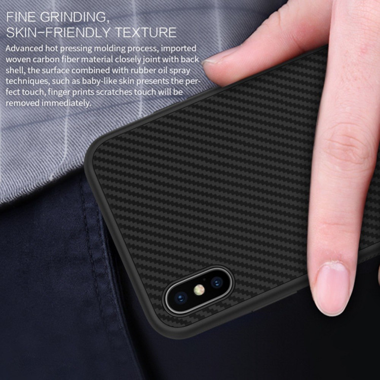 Nillkin Synthetic Fiber Case for Apple iPhone XS Max (6.5)