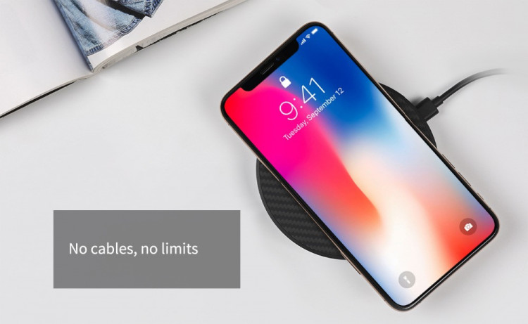 quality design 8a4c2 155b9 Nillkin 15W Fast Wireless Charger Qi Fast Wireless Charging Pad for Apple  iPhone XS Max, XS, 8, 8 Plus, Samsung Galaxy S9, Note 8, S8, S8 Plus