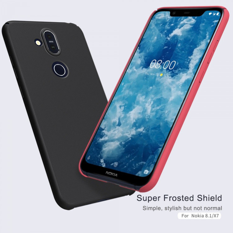 new arrivals 5062e 2215a Nillkin super frosted shield case for Nokia 8.1, Nokia X7