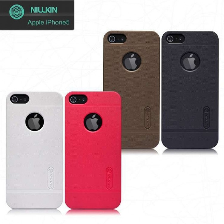 Nillkin Super Frosted Shield Case for Apple iPhone 5, iPhone 5s, iPhone SE, iPhone 5SE, iPhone 5e, iPhone 7c